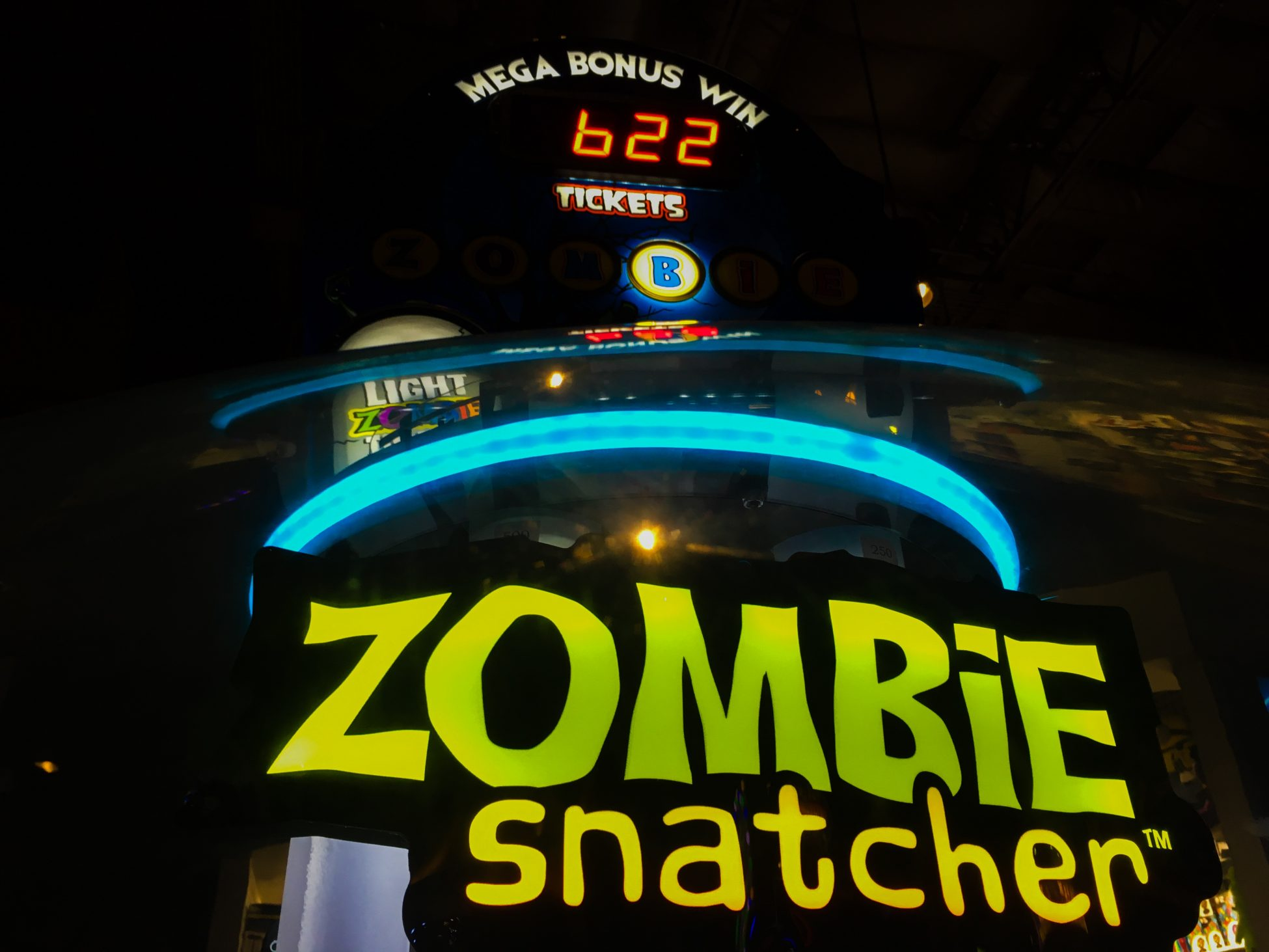 image of bonus ticket counter you can win if you hit the bonus on the zombie snatcher