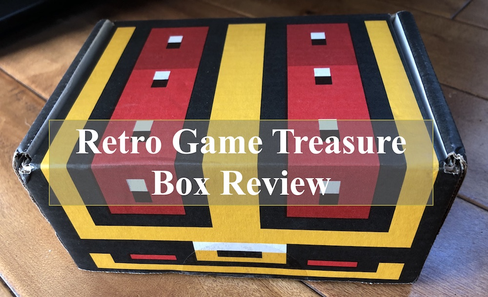 retro game treasure box review