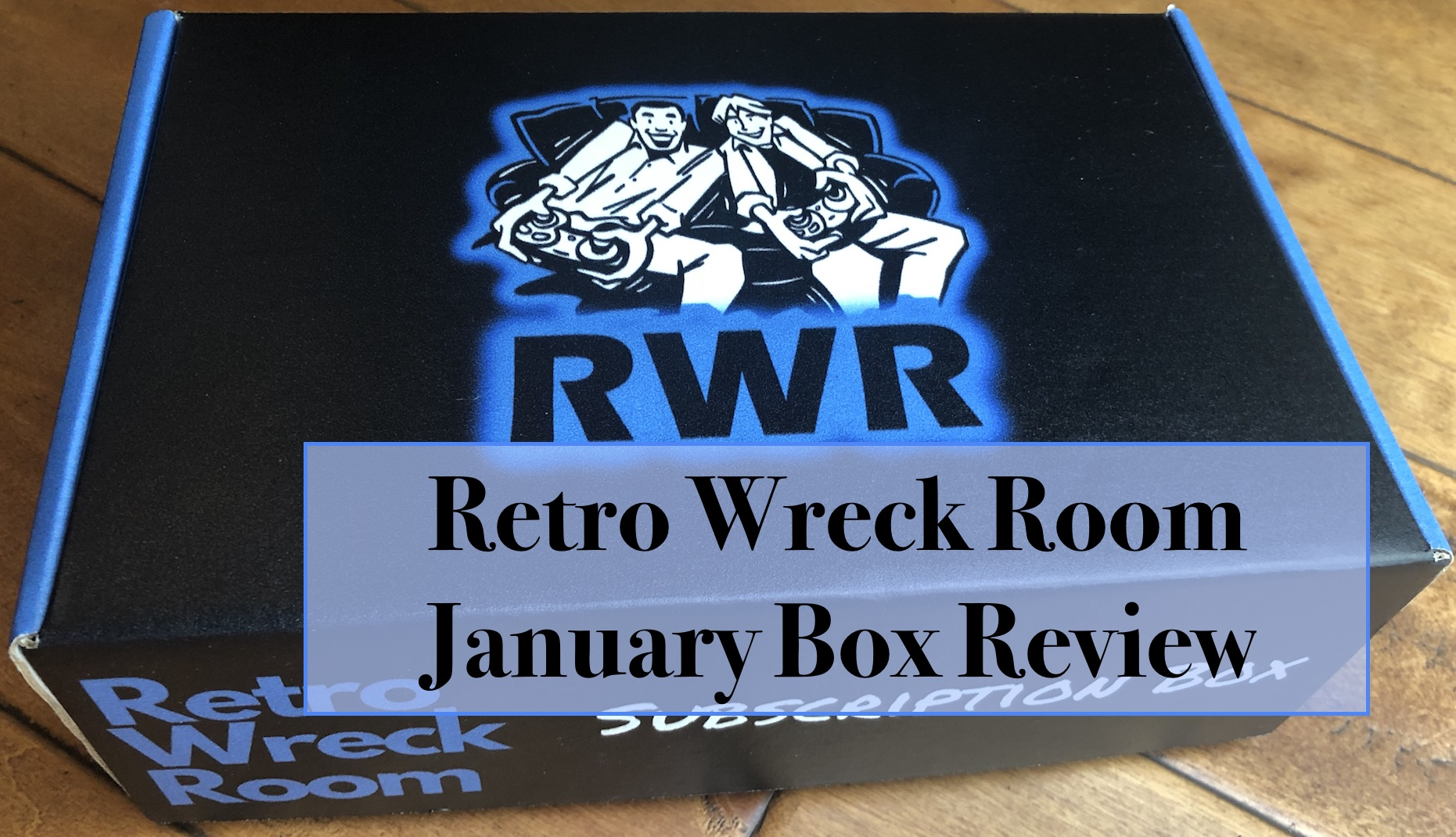 image of retro wreck room subscription box for january